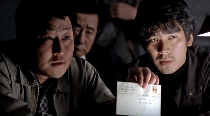 Una scena di Memorie di un assassino del regista Joon-Ho Bong