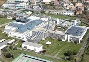 Il vaccino Covid-19. La sede della Irbm a Pomezia