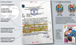 Abc e i soldi venezuelani al M5S. I dubbi sulla validità del documento pubblicato