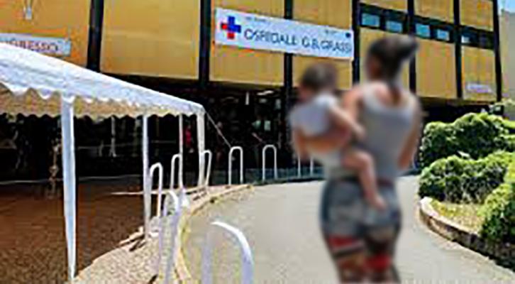 Madre rapisce il figlio dall'ospedale Grassi di Ostia