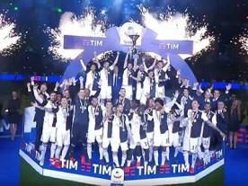 Juventus Campione d'Italia per il nono anno consecutivo