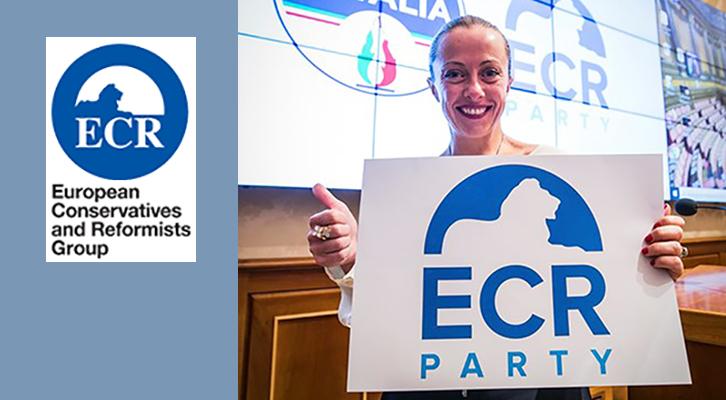 Giorgia Meloni eletta presidente dell'Ecr Party