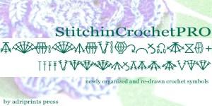 Stitchin Crochet Font Knit Font
