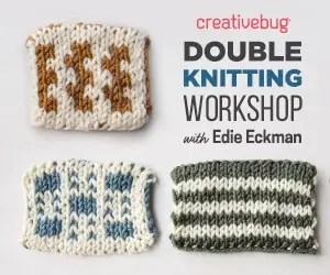 Double Knitting Workshop Creativebug
