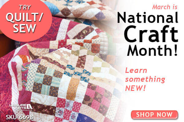 National Craft Month-Quilt and Sew image