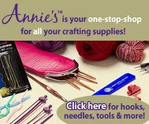 Annie's Craft Supplies ad