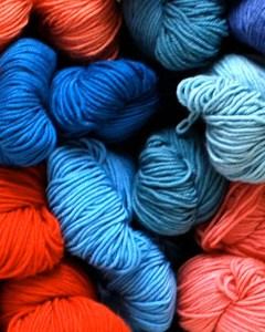 Colorful Wool Stash