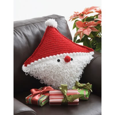 Bernat Santa Pillow Crochet