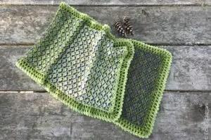 Three Pines SHawl Crochet