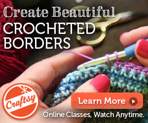 Fantastic Finishes Craftsy crochet