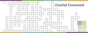 crochet crossword puzzle
