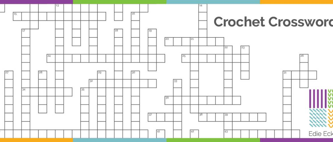 crochet crossword puzzle