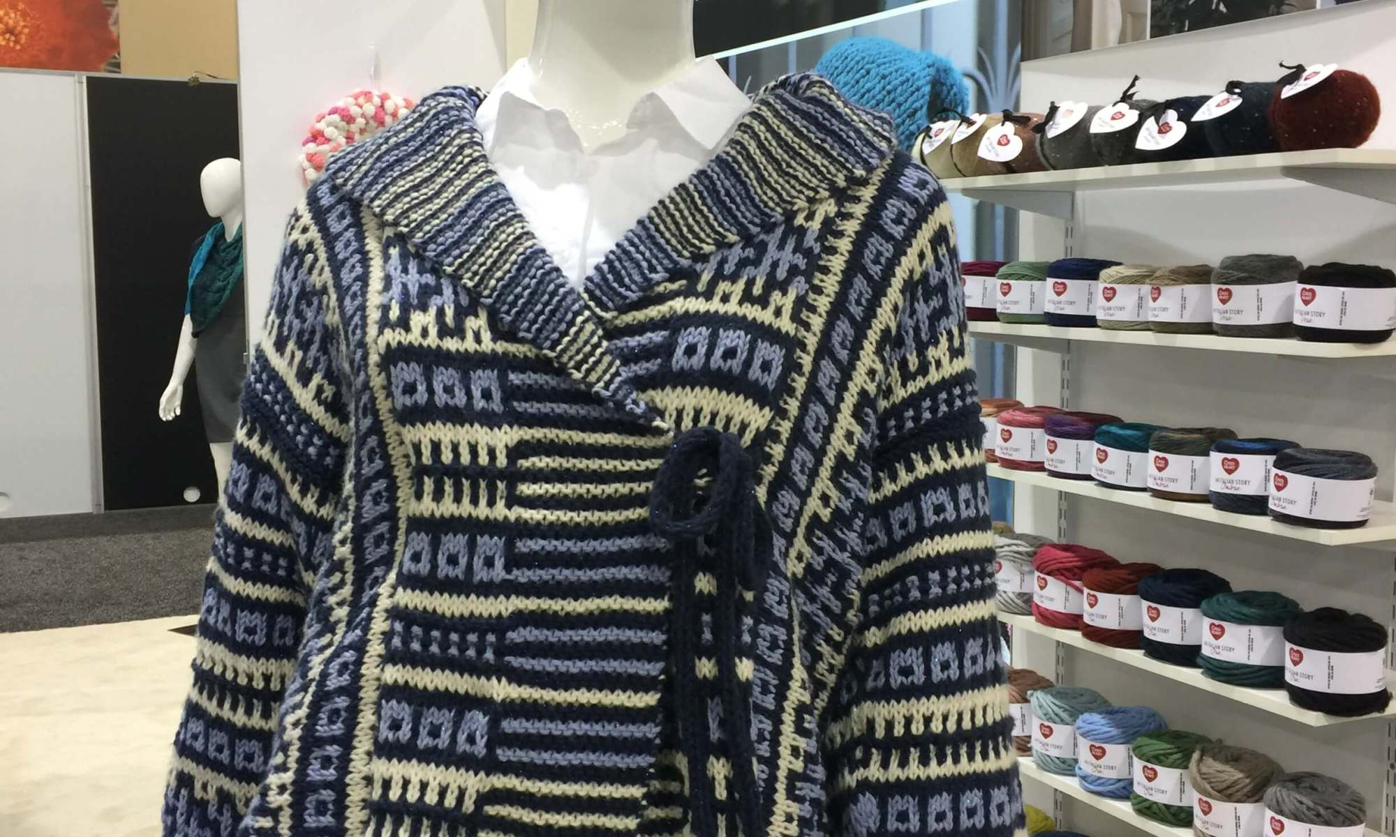 Creativation Red Heart Sweater