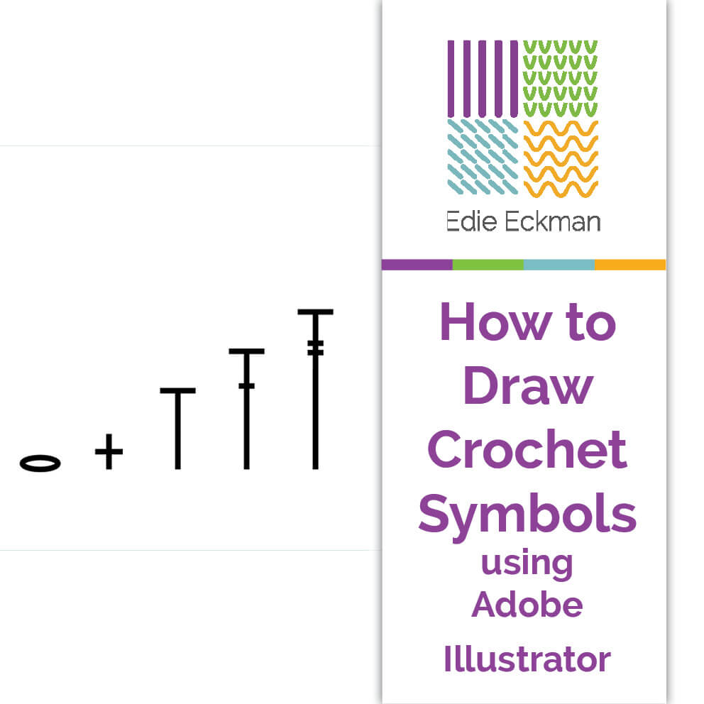 How to Draw Crochet Symbols