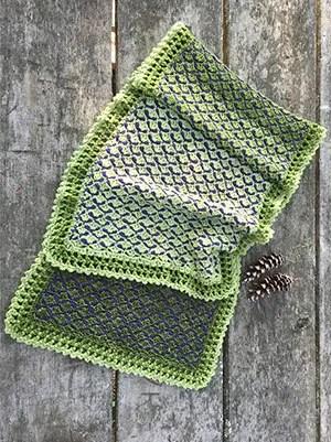 Three Pines Shawl Crochet Pattern