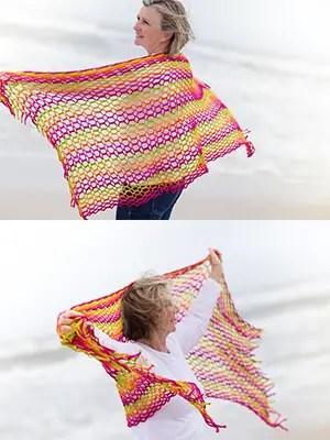 Dinkin's Bay Shawl Crochet Pattern