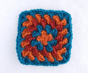 Tower Stitch Granny Square