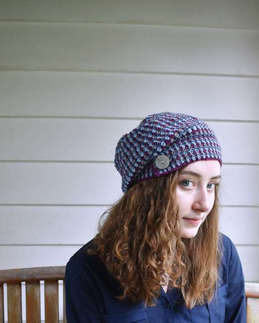 Sunset Hill Hat by Edie Eckman