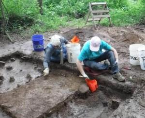 anthropological dig