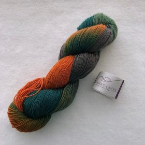 Lorna's Laces Shepherd Sock skein with label removed