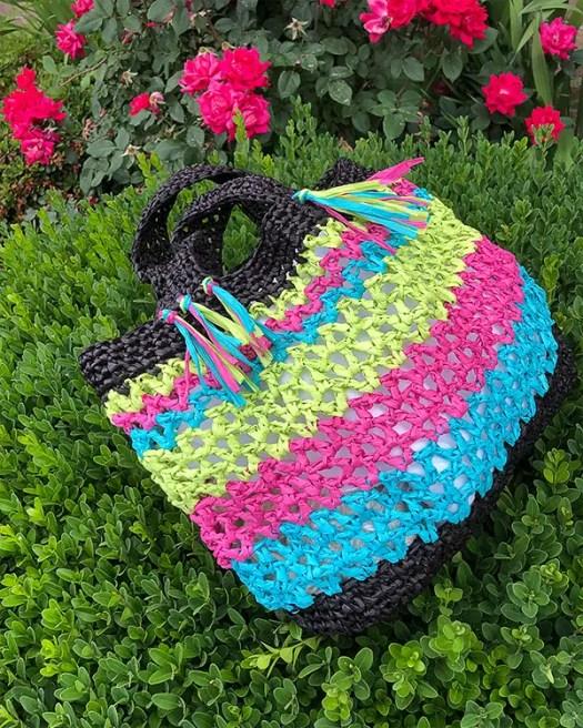 Fernandina Beach Bag Crochet Pattern