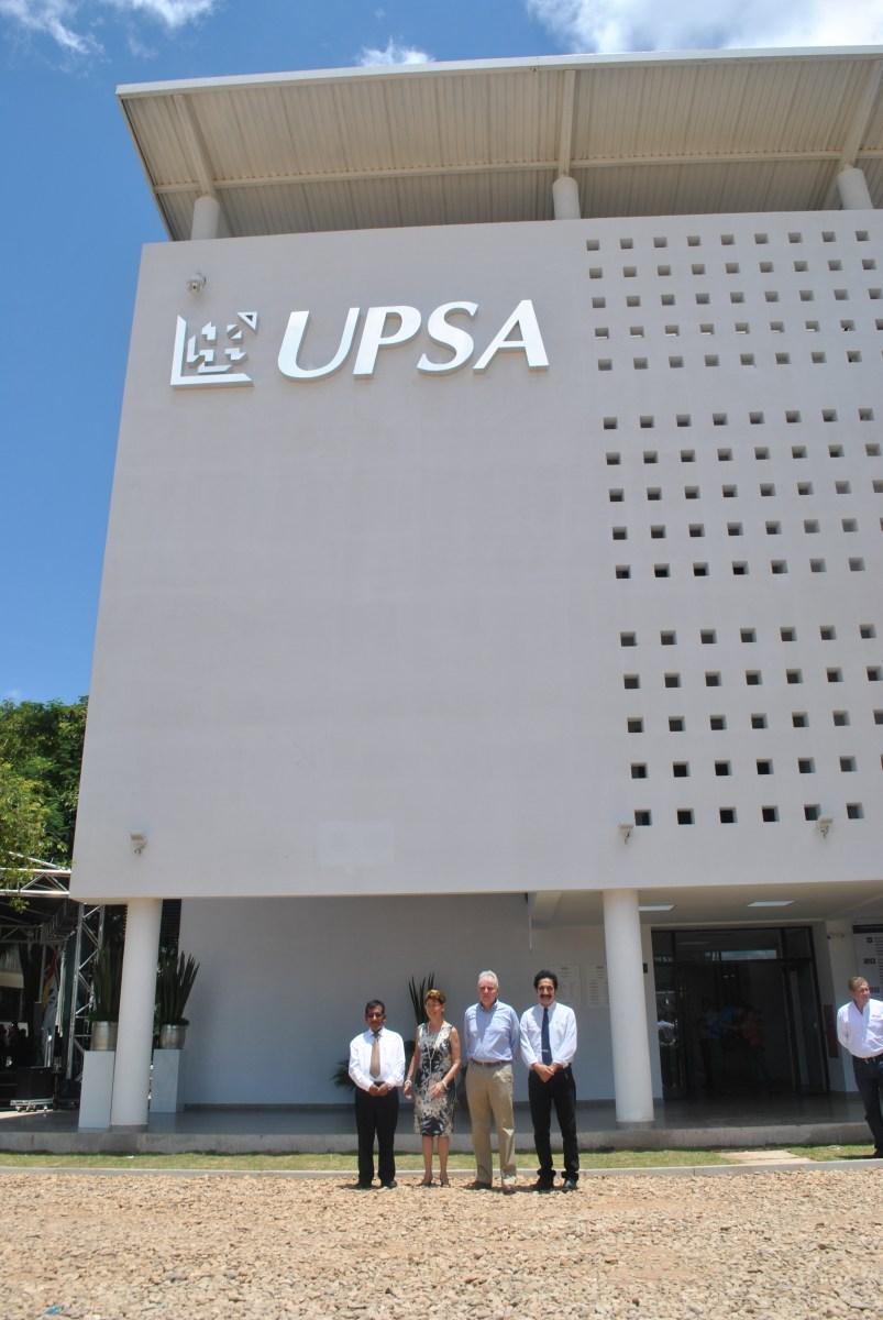 UPSA estrena nuevo edificio y laboratorios