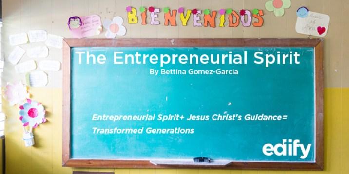 April Reflection Header-The Entreprenuerial Spirit2