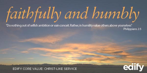 A Posture of Christ-Like Service