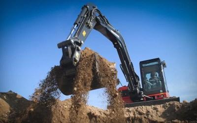 Il noleggio di macchine e attrezzature nel campo dell'edilizia.