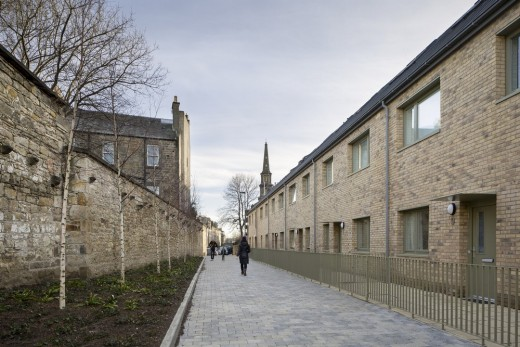 New housing at Leith Fort