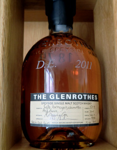 My personalised bottle of The Glenrothes