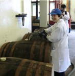 Filling a whisky barrel - it's faster than filling a petrol tank