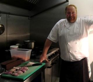 Craig Millar in his kitchen