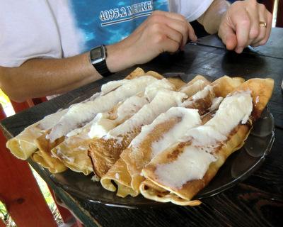 Polish pancakes
