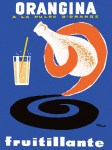 Orangina Poster - Bernard Villemot
