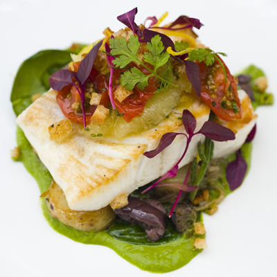 Tom Kitchin's Halibut