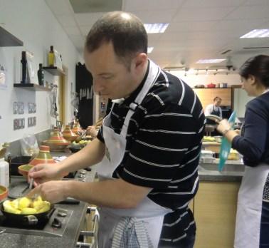 Creation of a tarte tatin