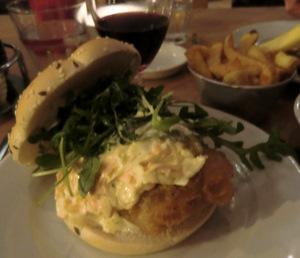 Coleyslaw Burger