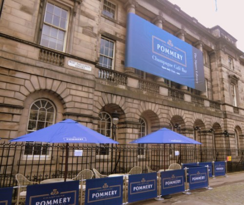 The Pommery Bar, Signet Library, Edinburgh