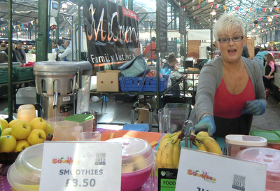 Smoothie Stall, St Georges Market
