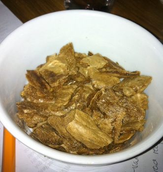 Freeze dried beef stock
