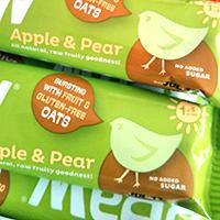 Brawbars apple and pear bars