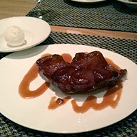 ...but the tarte tatin stole the show. Hands down.