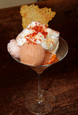Savoury ice cream to die for by Paul Wedgwood
