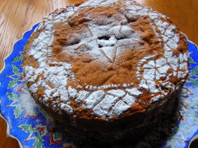 Coffee Ginger Cake