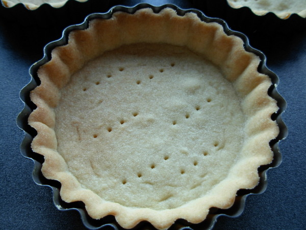 Sablee pastry - tart shell cooked
