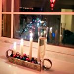 Christmassy champagne