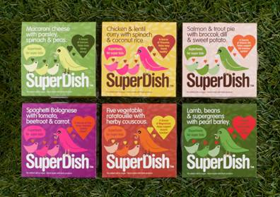 Super Dish Baby foods