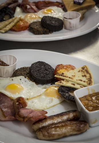 The Big Brekkie for Carnivores  Copyright Brendan MacNeill