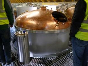 Mash tun, Ballindalloch Distillery
